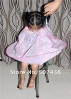 Haircut cape for Kid Hairdressing Salon Cape Pink 50PCS/LOT WHOLESALE NEW