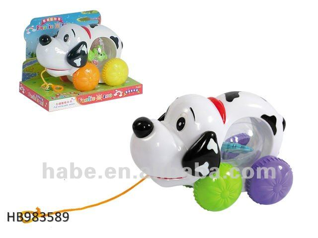 pull line pet dog , baby toys
