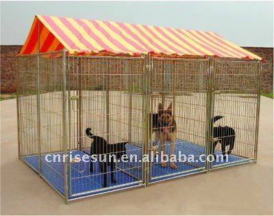 on sale Dog Kennel (Safe and secure slide bolt latche)