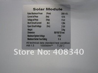 20W 17V Monocrystalline Silicone Solar Panel+Solar Cells For Power System+Solar Module For Home Lighting Use DHL Free shipping