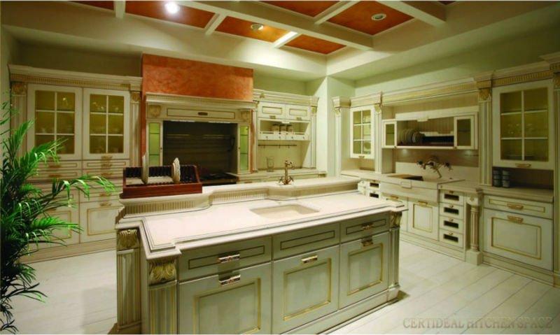 Luxe armoires de cuisine cuisine le base restaurant du for Cuisine equipee de luxe