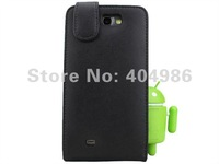 Чехол для для мобильных телефонов MOQ 1PC Newest Black Flip Genuine Leather Case for Samsung Galaxy Note 2 N7100