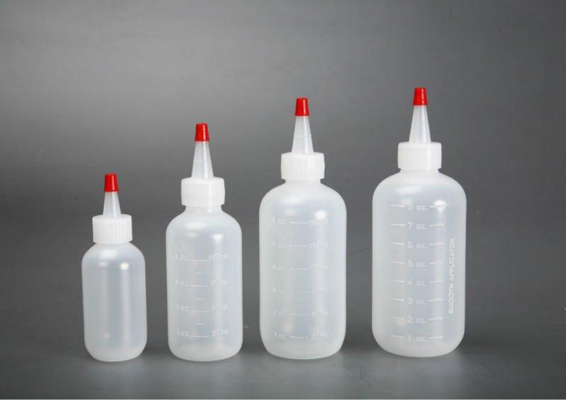 Plastic bottle and jar