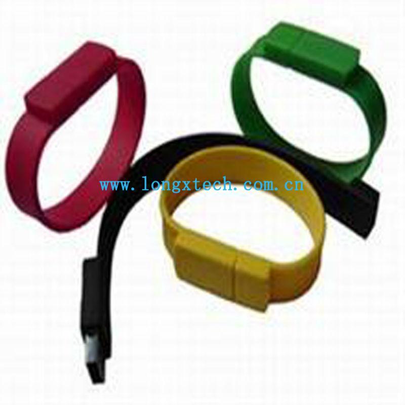 Silicone Bracelets USB Flash Drive 500GB