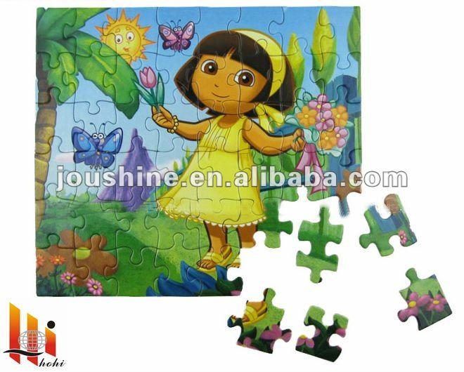 2014 New Paper /cardboard Jigsaw Puzzle