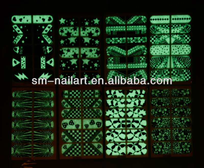 glow in the dark sticker paper supplier