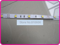 Светодиодная лента 5m flexible LED Strip; SMD5050; 30LEDs/m, non-waterproof; warm white; DC12V input, stock ready for dispatch for you