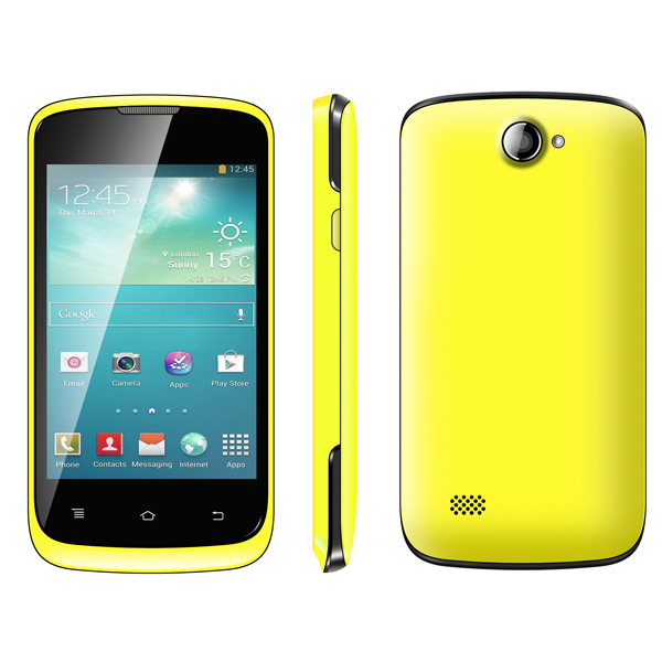 2014 newst 3.5 inch IPS screen MTK6572 dual core android 4.2.2 3G mobile phone