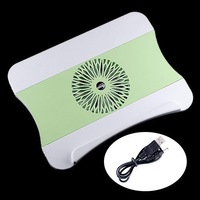 "LED Cooling Pad for all 12-17"" Laptop Notebook with Drawer c-pad ABS 900RPM, +Drop Shipping"