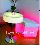 Пластиковый стул LED furniture LED bar table