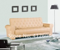 Environmental protection leather Beautiful practical fashion&modern design sofa bed best price-DA-40
