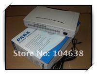 Частная телефонная станция с выходом в общую сеть More advanced features phone pbx / pabx system CP424