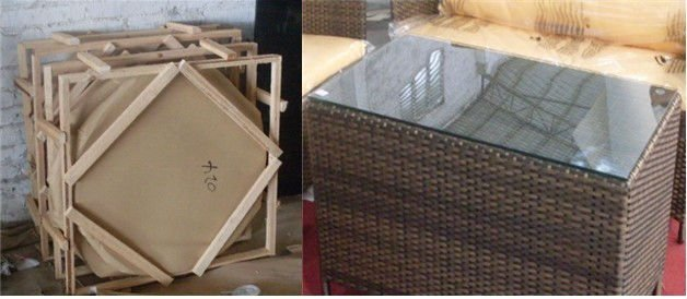 2014 new design rattan hotel furniture