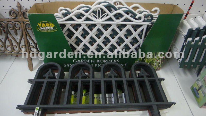 plastic garden fence lawn edging buy plastic garden fence plastic