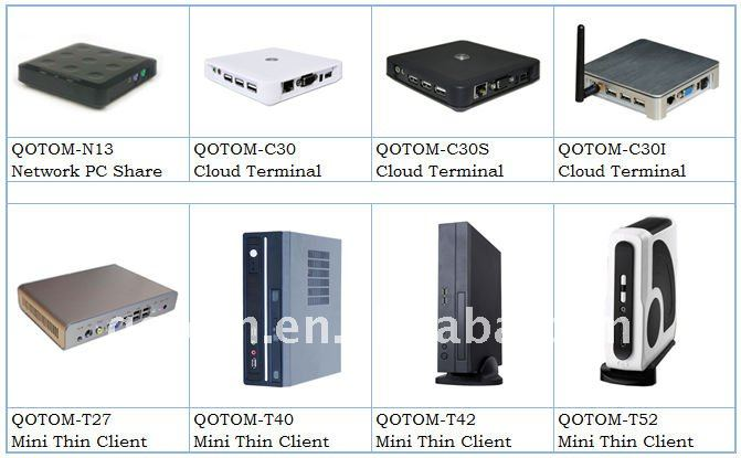 QOTOM-T27W Mini computers,mini thin client mini desktop computer, with 1G RAM,And wifi ,6 USB ports, good qaulity free shipping