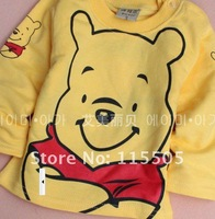 Футболка для девочки Kis The lowest price to sell a new spring cotton knitted T-shirt 4pcs/lot winne