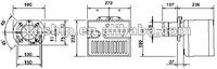 """Детали оборудования котла diesel oil burner, 0.75""""nozzle"""