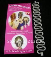 Аксессуар для волос Braided hair, Hair clips, Plates hairpin, Sportsbraider, hair accessories, as seen on TV, 5pcs/lot