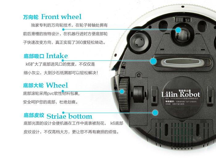 Aspirateur Robot Electromix Vacuum Cleanr View