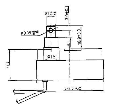 dc 12v 24v dc fan motor