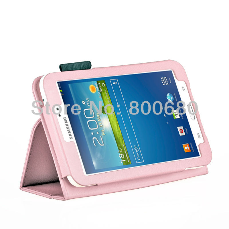 Galaxy Tab 3 7.0 P3200 Stand case Light Pink (01)