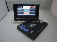 DVD, VCD - проигрыватели 7.8 inch Portable Home DVD Player with FM Radio Analog Games TV MP3 MP4 plus 1 Year Warranty