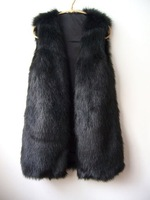Женская одежда из меха 2012 HighQuality Fashion New Design Lady's Fur Vest best selling Luxurious noble fur vest tailor-made