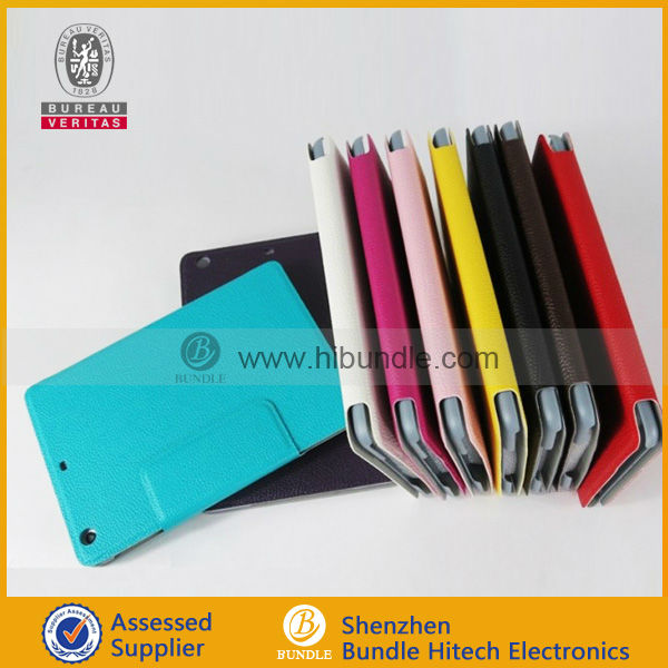 Wholesale factory price smart cover for ipad mini 2013 alibaba express high level