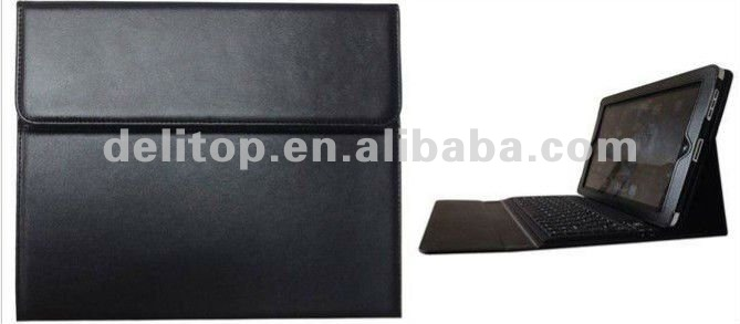 Leather Carrying bag Case Cover/Folio with Bluetooth for ipad 2 3