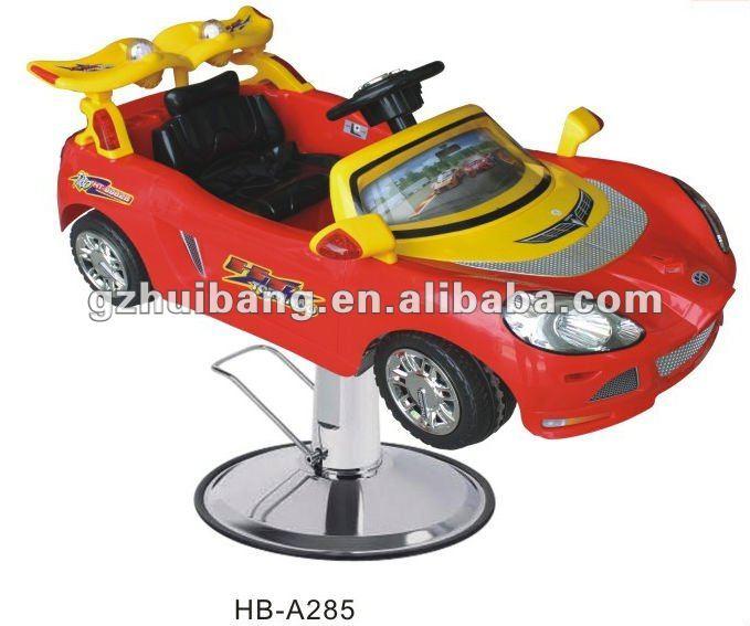 Mobília do salão de beleza cadeira de barbeiro crianças caçoa o carro para 1-7years HB-A de idade as crianças 285
