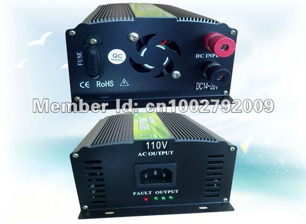 350W Grid Tie Inverter for Solar /Wind Power 28V-52V DC - 220/230V AC(Free Shipping,Reliability Quality,High Efficiency)