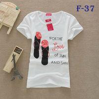 [SEKKES] 2013 Fashion Cotton T Shirt Women Love T-shirts MIXED ORDER