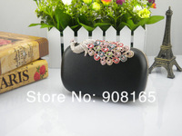 Free Shipping! Hot/Sale New arrival Peacock diamond women fashion dress evening bags,clutch party handbag.wholesale
