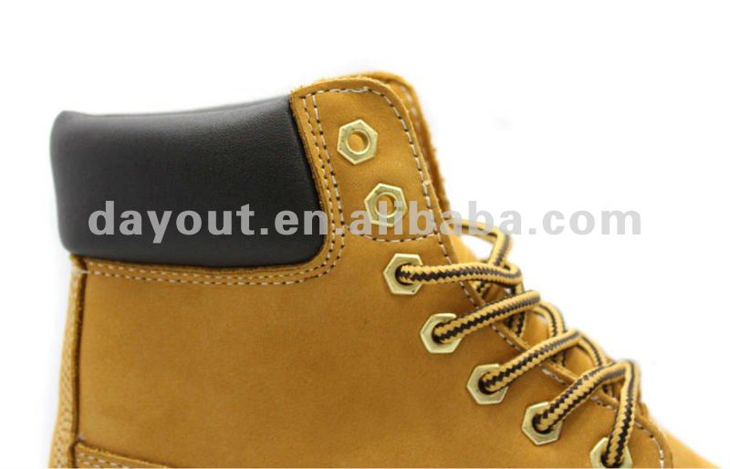 6'' wheat nubuck work shoes