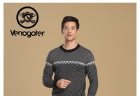 Мужской пуловер Free shopping! Venogoternew business knitwear, pullovers, warm sweater fashion leisure