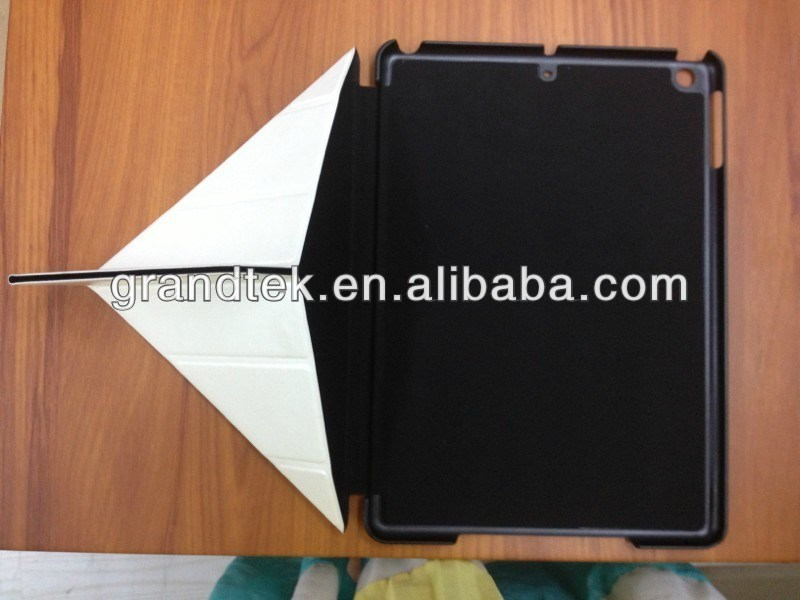 triangle folding smart cover for ipad 5 (Louis 215)