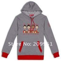 Товары для занятий футболом Xplosive Arsenal All menbers cartoon long sleeve Sweater Coat T-shirt jersey soccer football T shirt van Persie