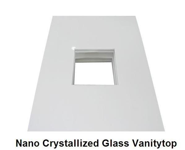 marmore stone nano glass panel