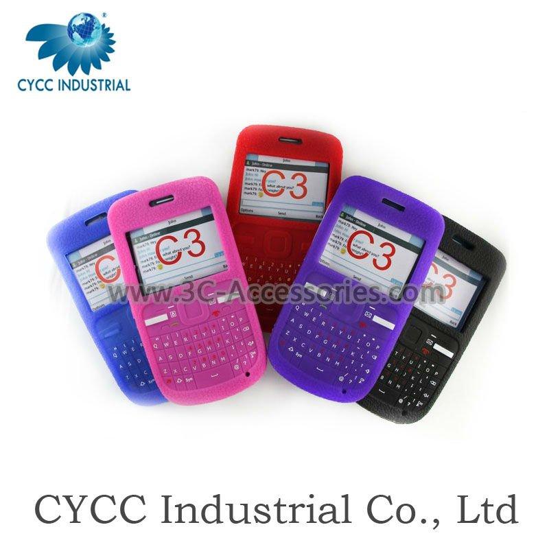 Silicon Nokia c3 Silicon Case For Nokia c3