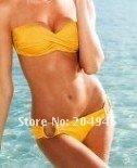 Мода летом сексуальная с Кап плечевой ремень купальники бикини сексуальные женщины ' купальник плечевой ремень очаровательные beachear 80185