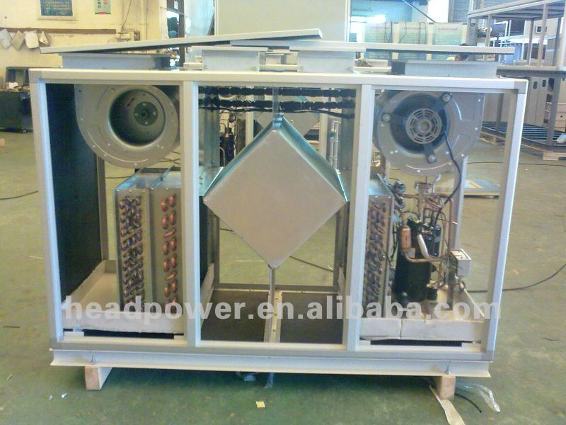 Heat recovery fresh air handling unit