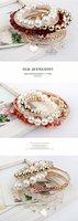 Ювелирное украшение с крестом 62F51 Gorgeous! Lovely! Metal pearls bracelet set Bangle Jewelry