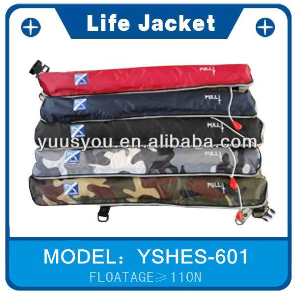 Camouflage fishing vest