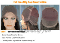 Sexy 100% Indian Remy Human Hair Lace Front Wigs Body Wave with bangs 8-24inch #2 Ladies' Hair Wigs DHL