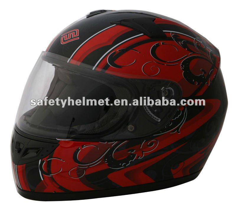 ABS full face helmet FS-805 Fashion Decos with ECE approved