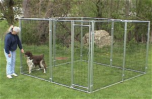 Steel Dog Kennel(Factory)