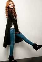 Free shipping New fashion I Q shop/ extend version of cardigan/ Hipsters dust coat / special offer