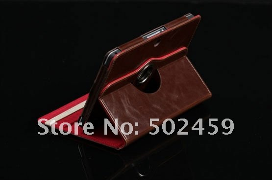 For Leather case for Blackberry Playbook 360 degree Rotating