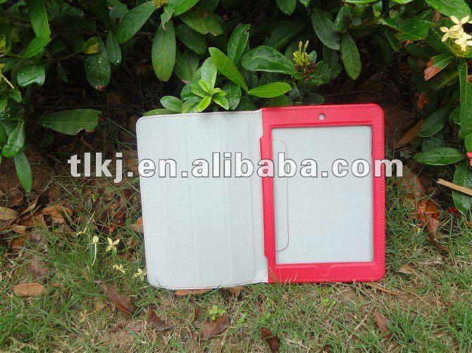 For ipad mini case,slim case,triple folded case with auto sleep/wake up function