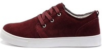 Мужские кроссовки Men's Fashion Classical Sanded Genuine Leather Lace Up Casual Shoes Sneaker Size US 7-10 -M281